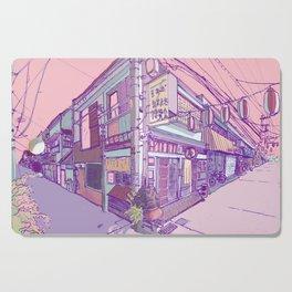Japanese Houses Aesthetic Street Tokyo Japan Cutting Board