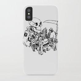 Grim Reaper - Power Scythe iPhone Case