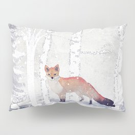 FOX FOX FOX Pillow Sham