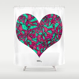 Old Favours: Love Shower Curtain