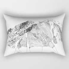 Mount Sopris Rectangular Pillow