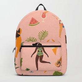 Beach Girls Dancing Backpack