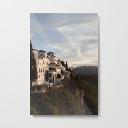 A perfect holiday in Ronda (Spain) Metal Print
