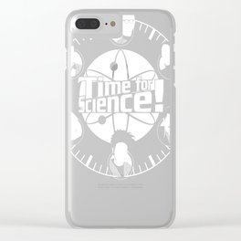 Time for Science! Clear iPhone Case