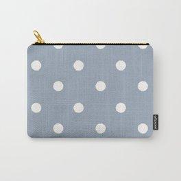 Carolina Blue Dotty Carry-All Pouch