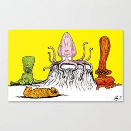 Bachelor Party Canvas Print