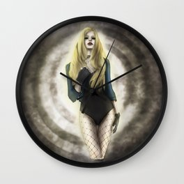 Black Canary v1 Wall Clock