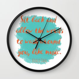 Roald Dahl Wall Clock