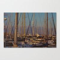 Cyprus Port Canvas Print