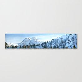 The Top of Mount Baker Highway Canvas Print