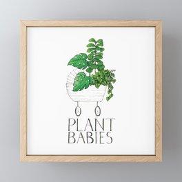 Plant Babies Framed Mini Art Print