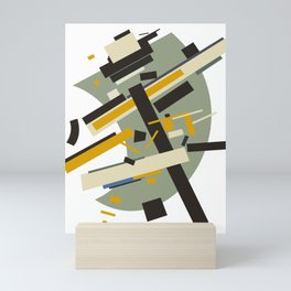 Geometric Abstract Malevic #10 Mini Art Print