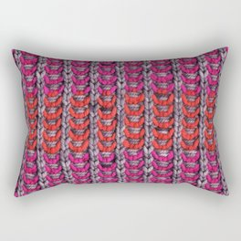 Neon Mikkey Knit Rectangular Pillow