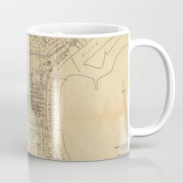 Vintage Philadelphia Railroad Map (1911) Coffee Mug