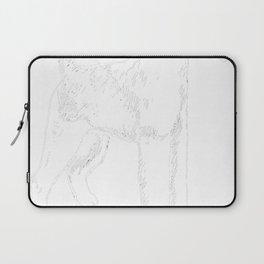 Irish-Terrier-tshirt,-just-freaking-love-my-Irish-Terrier Laptop Sleeve