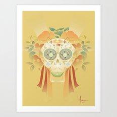 TEQUILA SMILE Art Print