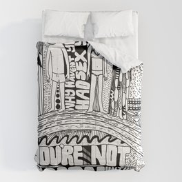 Not A Man Comforters