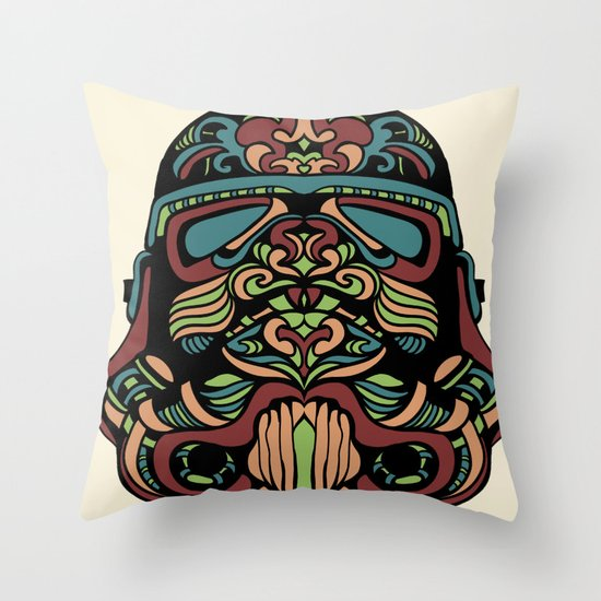 Candie Trooper Throw Pillow