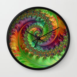 Follow Me Down Wall Clock