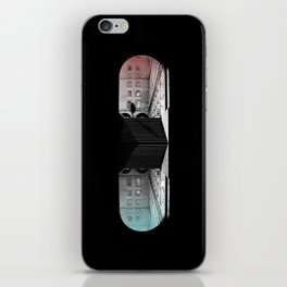 traveling pill iPhone Skin