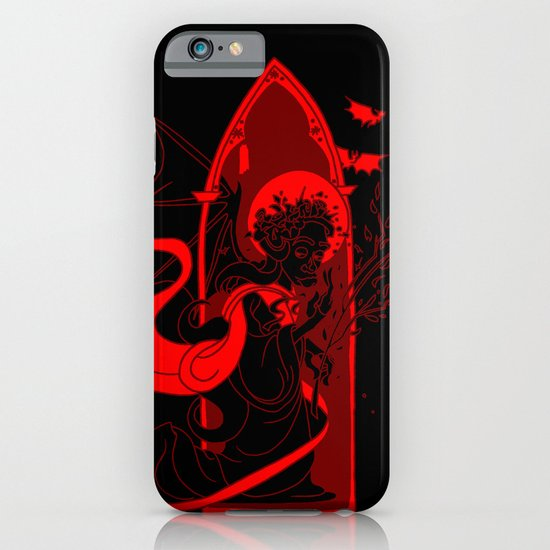 Beati Vespertilionem: Red iPhone & iPod Case