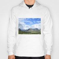 norway Hoodies featuring Rondane - Norway by AstridJN