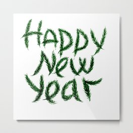 New Year's wish Metal Print