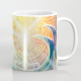 """Light Temple"" by Adam France Coffee Mug"