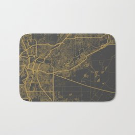 Sacramento Map Bath Mat