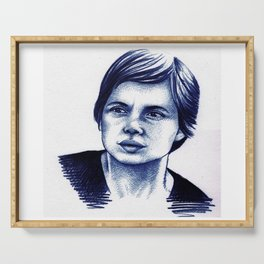 Isabella Rossellini Serving Tray