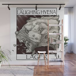 GMDs Laughing Hyena Lager Wall Mural