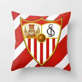 Sevilla FC Throw Pillow
