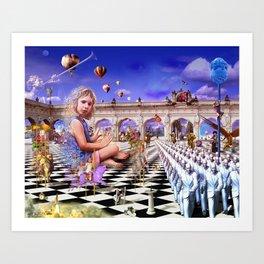 The Playground Art Print
