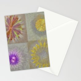 Anticapitalistically Combination Flower  ID:16165-030023-59450 Stationery Cards