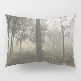 Lost in the fog. Retro Pillow Sham