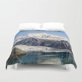 Mountain Lake Landscape Duvet Cover