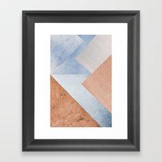 square I Framed Art Print