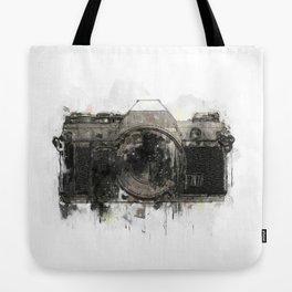 retro camera illustration / painting /drawing  2 Tote Bag
