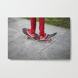 Broken Deck Metal Print