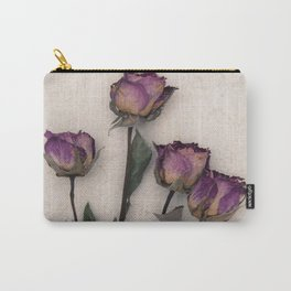 four dried roses Carry-All Pouch