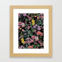 NIGHT FOREST XIV Framed Art Print