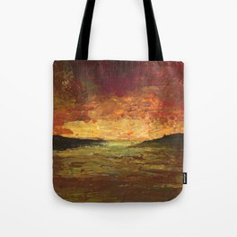 Sunset Experiment Tote Bag