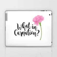 What In Carnation? Laptop & iPad Skin