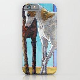 Paisley Paws de Deux iPhone Case