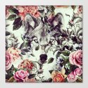 Floral Wolf by yazdesigns