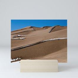 Sand Dunes NP Mini Art Print