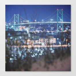 Bridge of Winter Canvas Print