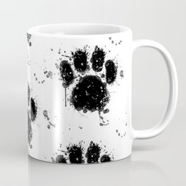 Pawprint Love Coffee Mug