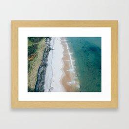 Summer Days on Block Island Framed Art Print