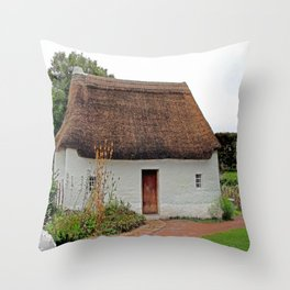 Nant Wallter Cottage. Wales. Throw Pillow